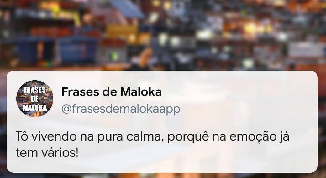 Frases de Maloka Curtas